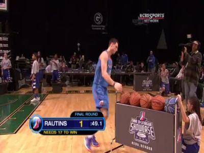 NBA D-League Showcase – Three Point Contest