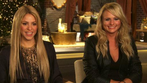 Shakira and Miranda Lambert Interview