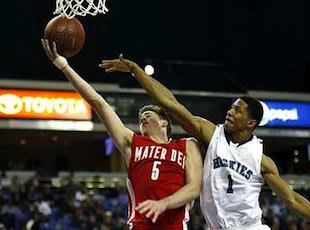 Mater Dei star Katin Reinhardt — Associated Press