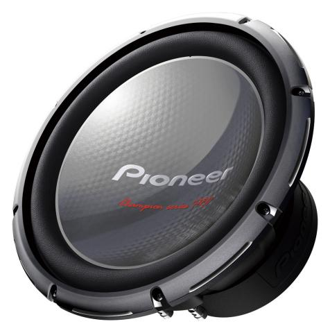 Pioneer Designs New Subwoofer and Amplifiers to Meet Consumer Trends