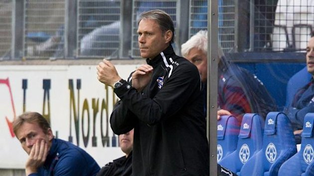 Marco van Basten is to leave his job as Heerenveen coach at the end of the season (Reuters)