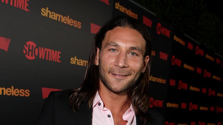 "Zach McGowan attends the ""Shameless"" Season 2 Reception at Haus Los Angeles on January 5, 2012 in Los Angeles, California."