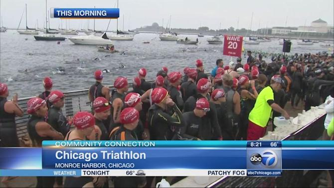 Chicago Triathlon draws athletes from across the country