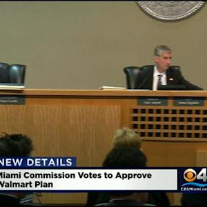 Commissioners Approve Plans To Build A Walmart In Midtown Miami
