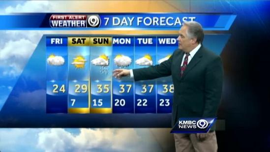 2nd half of weekend could bring more winter