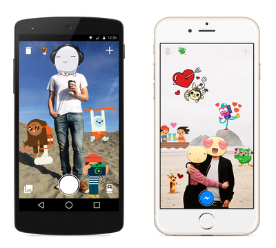 Facebook releases a new app for covering your photos in stickers