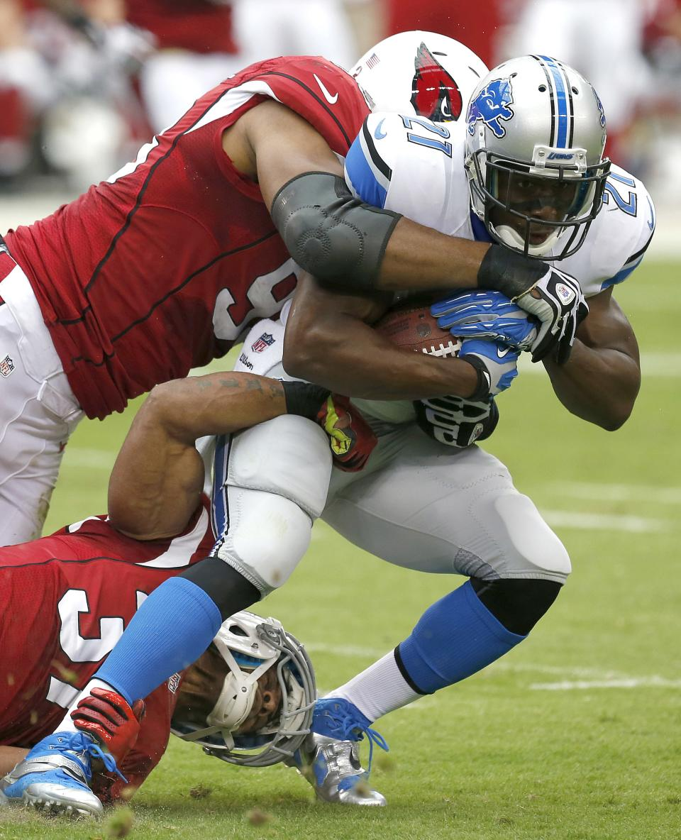 Lions RB Bush still uncertain about weekend