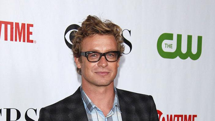 "Simon Baker (""The Mentalist"") arrives at the CBS, The CW, and Showtime 2009 TCA Summer Tour All-Star Party held at the Huntington Library on August 3, 2009 in Pasadena, California."