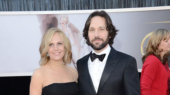 Paul Rudd and wife Julie Yaeger