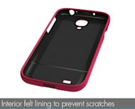Skech Hard Rubber Case Review image HR Features Felt thumb