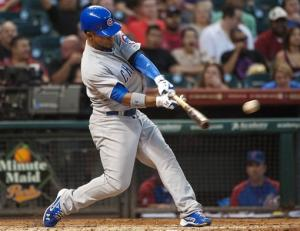 Sappelt leads Cubs over Astros 4-1