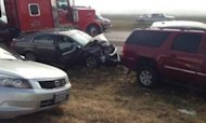 Two Dead After 100-Car Pile-Up In Texas