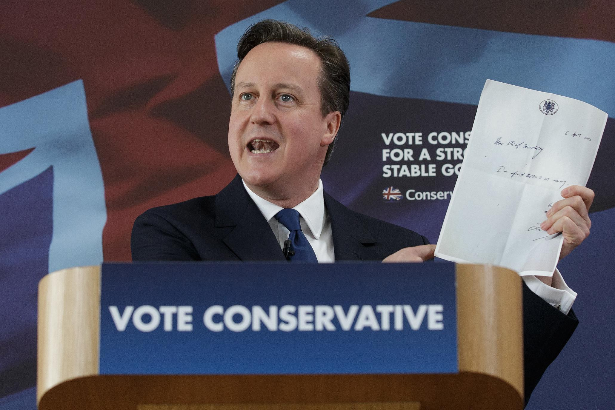 British leaders in final push before May 7 election