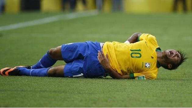 Confederations Cup - Brazil defend Neymar after diving accusation