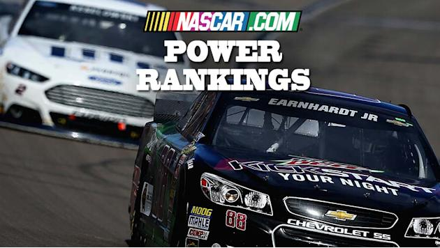 Power Rankings: Was Brad's win enough to top Dale Jr.?