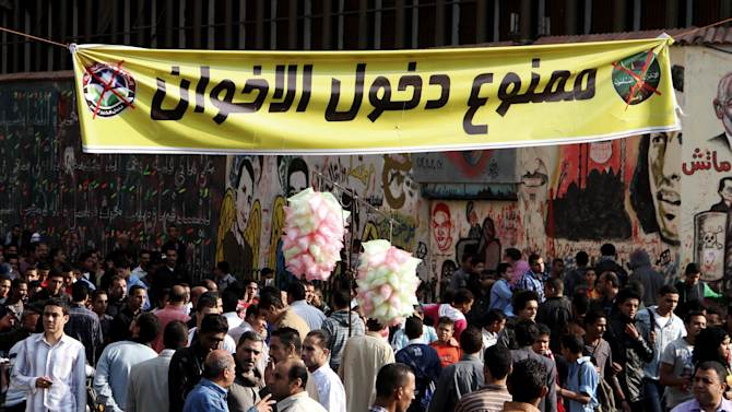 Egypt's political foes dig in their heels