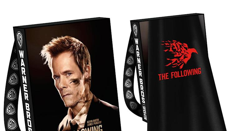 "Warner Bros. Official Comic-Con 2013 Bag: ""The Following"""