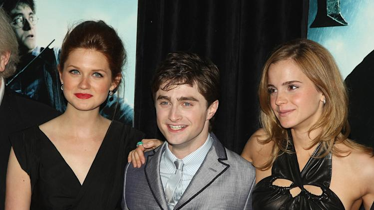 Harry Potter and the Half Blood Prince NY Premiere 2009 Bonnie Wright Daniel Radcliffe Emma Watson
