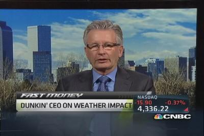 Dunkin' CEO: Very disciplined at managing prices