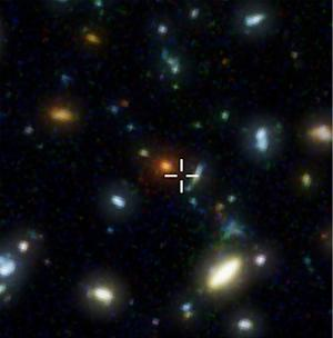 Mysterious Galaxy's Distance from Earth Revealed
