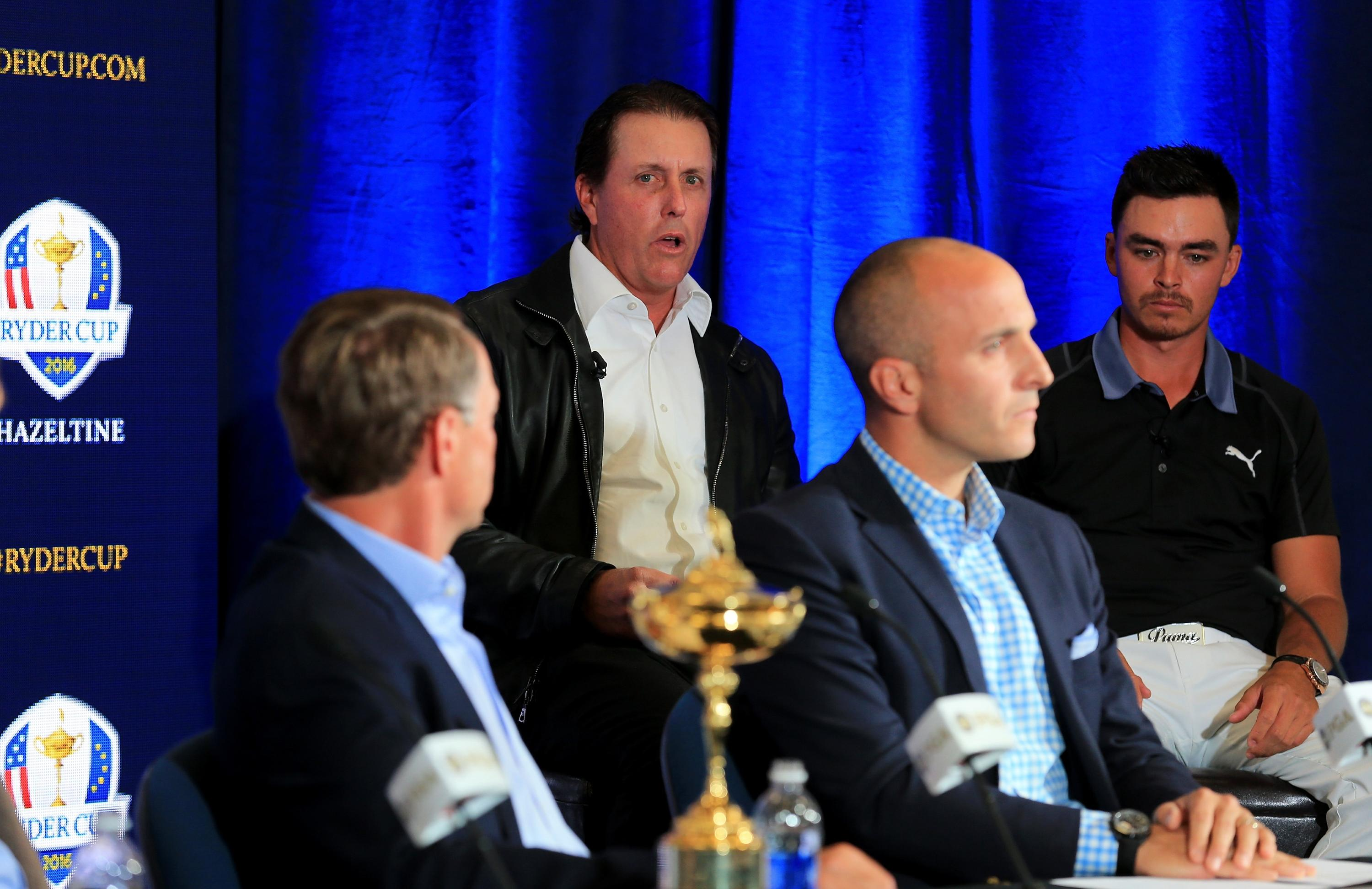 Former PGA pres. Bishop: Mickelson was 'grandmaster' of Ryder Cup task force