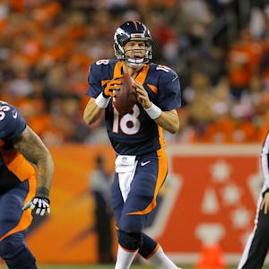 Is Peyton Manning in for a let down in Week 8?