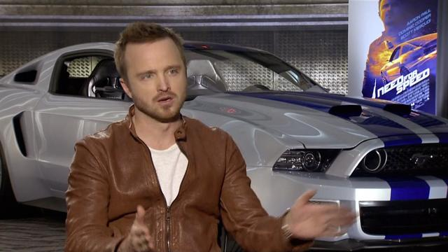 "Aaron Paul: There's more to ""Need for Speed"" than just the cars"