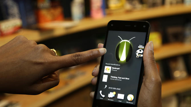 Review: Amazon phone better for info than shopping
