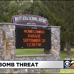 Police: Mount Sinai High School Student Arrested For Threatening To Blow Up School