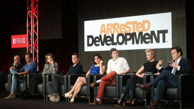 Perhaps it's the upcoming return of beloved comedy Arrested Development that helped Netflix grow its subscriber base to 27 million.