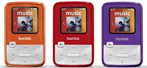 SanDisk announces the Sansa Clip Zip MP3 player