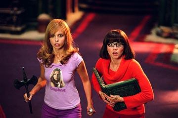 Sarah Michelle Gellar and Linda Cardellini in Warner Bros. Scooby Doo 2: Monsters Unleashed