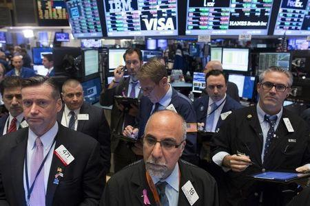 Wall Street lower as health, consumer stocks decline