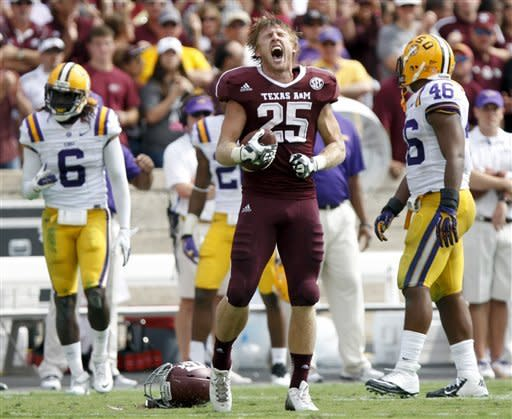 LSU's defense holds off Manziel, A&M