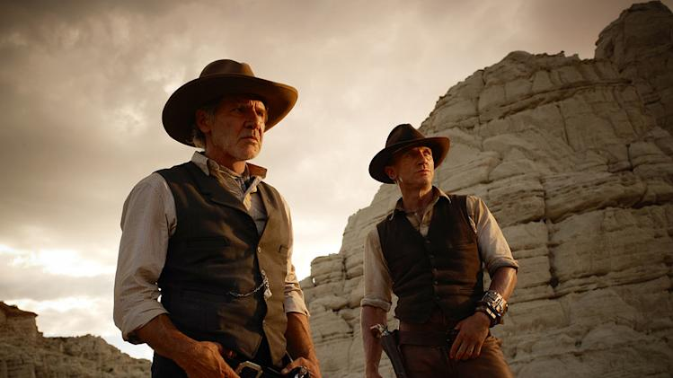 Cowboys and Aliens 2011 Universal Pictures Harrison Ford Daniel Craig