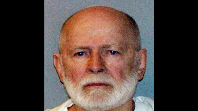 """FILE - This June 23, 2011, booking photo provided by the U.S. Marshals Service shows James """"Whitey"""" Bulger, who fled Boston in 1994 and wasn't captured until 2011 in Santa Monica, Calif., after 16 years on the run. Prosecutors and defense attorneys are expected to present lengthy closing arguments to jurors as they lay out their cases in the racketeering trial of reputed gangster James """"Whitey"""" Bulger on Monday, Aug. 5, 2013. (AP Photo/ U.S. Marshals Service, File)"""