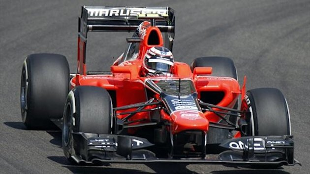 Marussia's F1 car (Reuters)