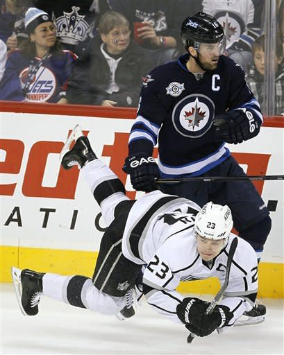 Kane nets OT winner, Jets beat Kings 1-0