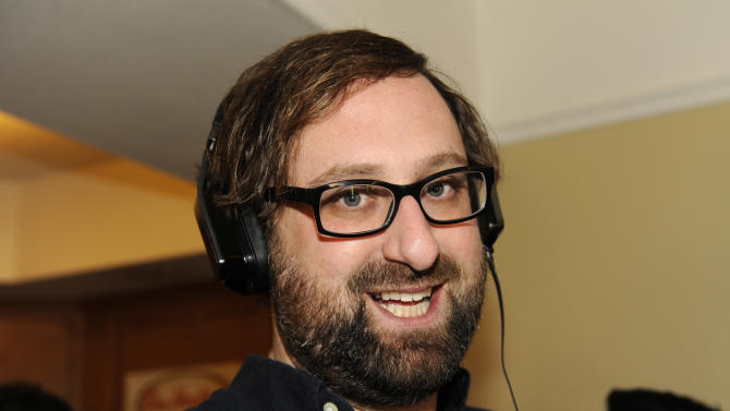Actor Eric Wareheim wears Inspiration headphones by Monster Products at the Fender Music lodge during the Sundance Film Festival on Monday, Jan. 21, 2013, in Park City, Utah. (Photo by Jack Dempsey/Invision for Fender/AP Images)