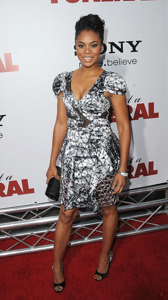 Death at a Funeral 2010 LA Premiere Regina Hall