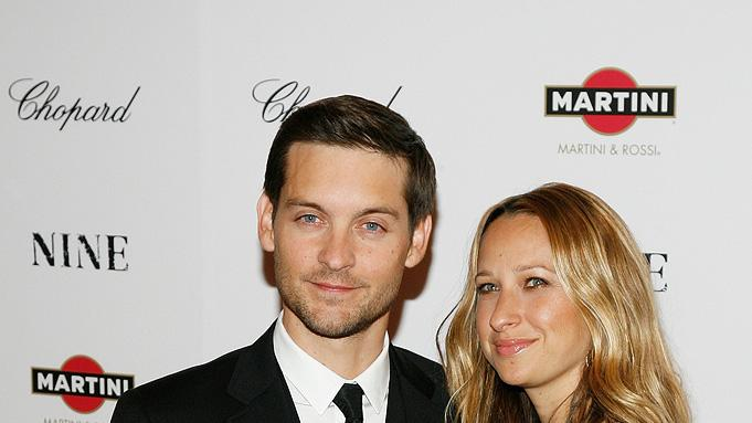 Nine NY Screening 2009 Tobey Maguire Jennifer Meyer