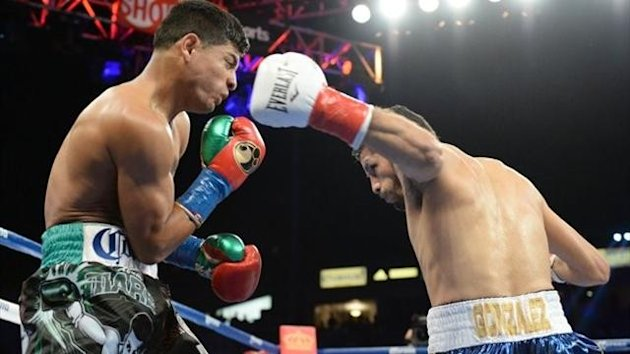 Jhonny Gonzalez's crushing left hook in the opening round was the start of the end for Abner Mares.
