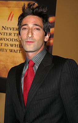 Adrien Brody at the NY premiere of Touchstone's The Village