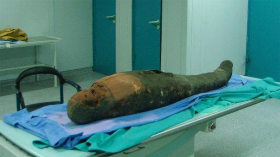 Oops! Brain-Removal Tool Left in Mummy's Skull