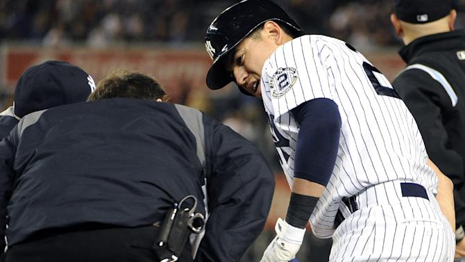 Yankees' Jacoby Ellsbury out with hamstring injury