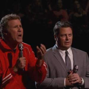 Will Ferrell and Nick Offerman Compete to See Who is More 'Appealing' on 'The Voice'