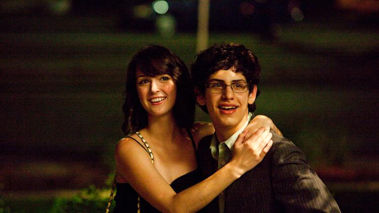 Nicole Weaver Matt Bennett The Virginity Hit Production Stills Columbia 2010