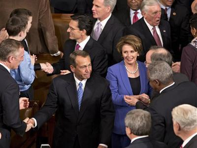 Raw: House Re-Elects Boehner Speaker