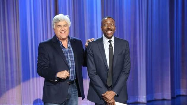 Jay Leno visits 'The Arsenio Hall Show,' February 26, 2014 -- CBS
