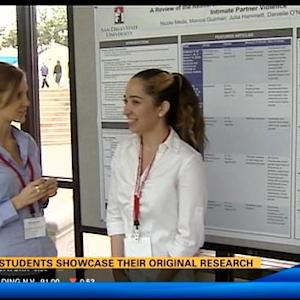SDSU students showcase their original research